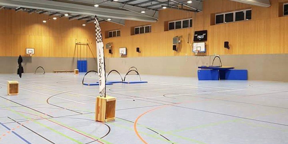 Hallenfliegen mit FPV Racer Bodenheim